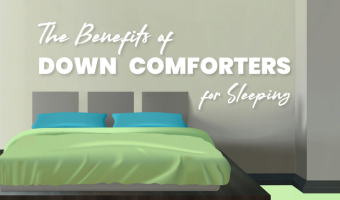 Featured Benefits of Down Comforters