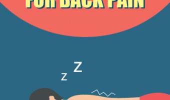 Best Sleeping Position for Back Pain – Infographic