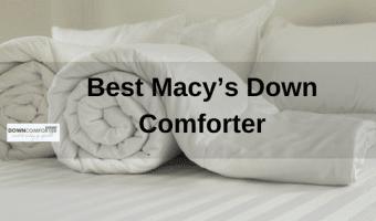macys down comforter - roll white comforter