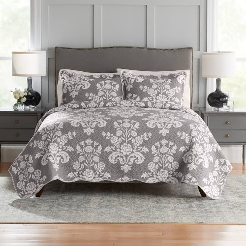 Croft & Barrow® Printed 5-piece Reversible Comforter Set
