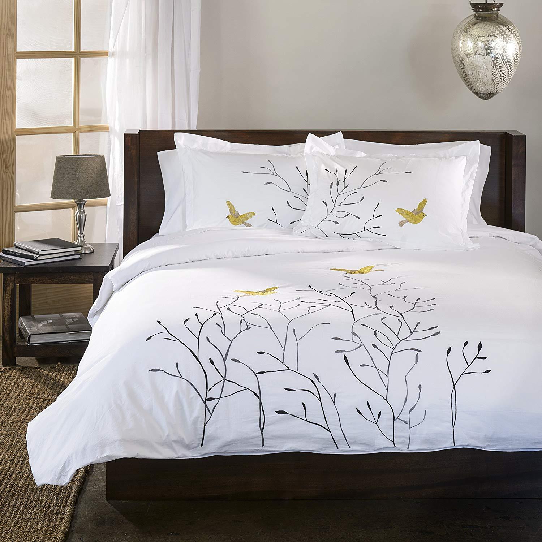 Duvet Cover Sets in bed