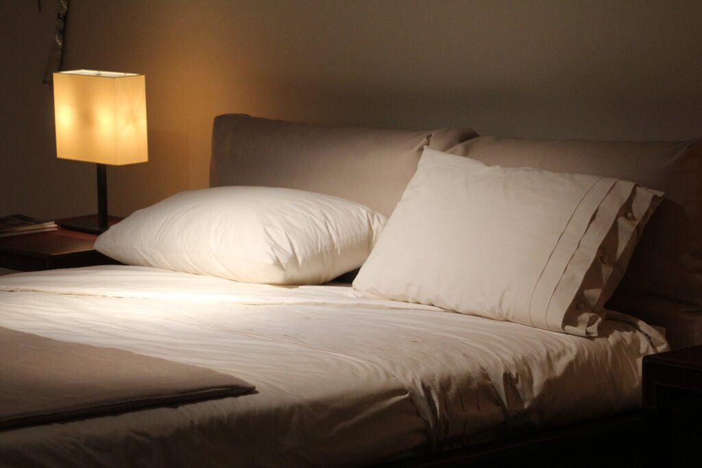 A bed with Modal Sheets